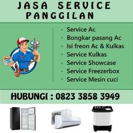 Service Kulkas Ac Mesin cuci Water heater, Isi freon Ac, Kompor tanam