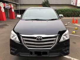 Toyota Innova E Manual BENSIN Tahun 2014 Warna Hitam