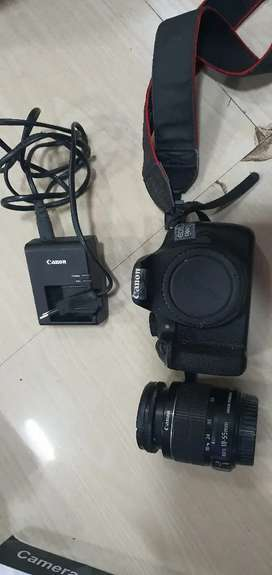 Canon 1200d with 18-55 lense best condition