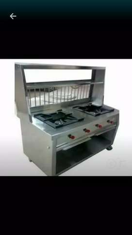 Steel counter dubble bhatti Wala  new condition m h