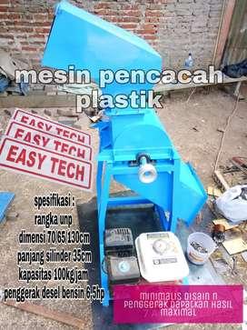 mesin giling pencacah plastik sett