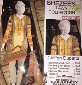 3 piece lawn collections