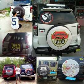 COVER Ban jeep Rush Terios Taruna Touring#Los Blancos Indonesia sarung