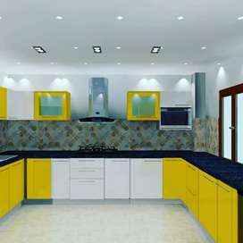 Get interior design starting from living room to bed room