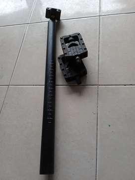 Jual seat post copotan noris +pedal