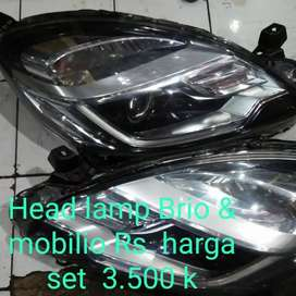 Headlamp Honda Brio Mobilio