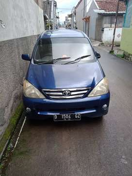 Avanza G 2004 Mulus manual