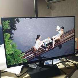 Monitor Led Ips Dell 22 Inch Inch Mulus Bening Bukan lcd Lg Samsung