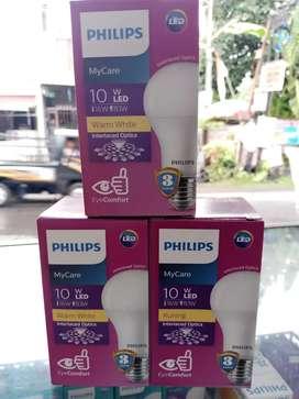 Lampu Philips10 w  ( putrye)