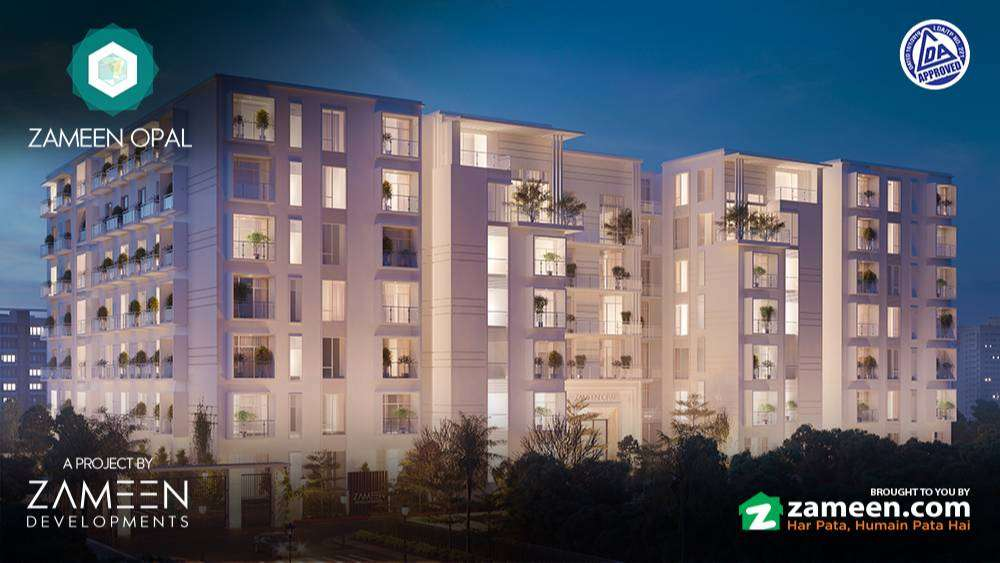 3rd & 5th Floor Apartment For Sale In Zameen Opal