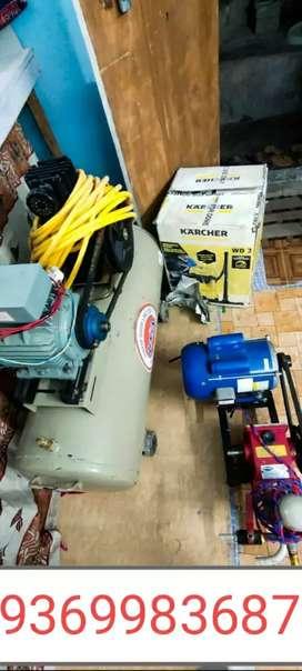 Car washing set /car dhulai set ,compressor, vacuum cleaner