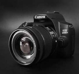 Canon EOS 200D Mark II Kit 18-55mm Bisa Kredit