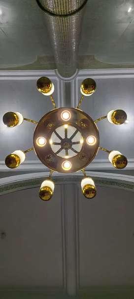 Lampu Kubah Masjid - Lampu Kubah Mushola - Lampu Hias Mushola 1 Meter
