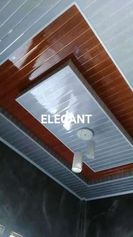 Percantik rumah dgn pasang plafon PVC