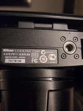 Nikon coolpix P500 for sale