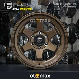 Velg Mobil Fuel Shok Original Ring 18 Matt Bronze