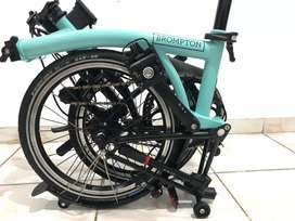 Brompton S2L Turkish Green Black Edition 99,9% very mint like new