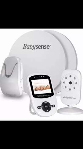 Babysense 7 Movement Monitor & Video Baby Monitor