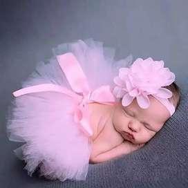Baju untuk foto bayi / properti foto / rok tutu / kostum