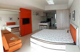 Apartemen studio corner furnish di apartemen warhol simpang 5 semarang