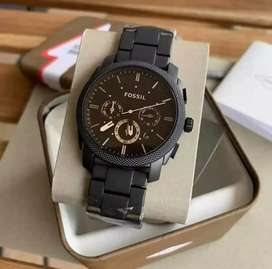 Premium fossil chain watch CASH ON DELIVERY price negotiable hurry