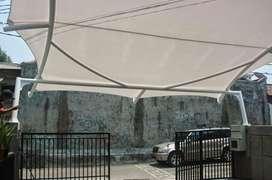 Toko canopy / atap membrane bahan tebal