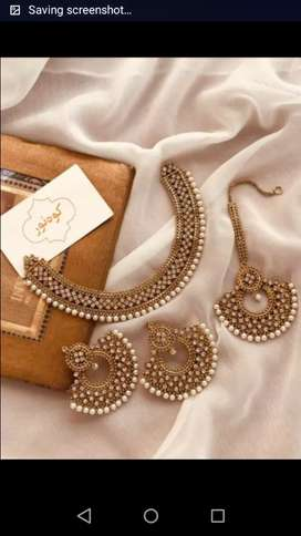 MOST TRENDING PARTY WEAR JEWELERY BY FASHION BUTIK