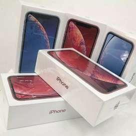 Iphone xr 64gb new garansi 1 tahun .