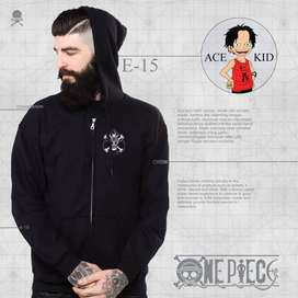 Jaket Anime One Piece Ace Kid Edition E-15