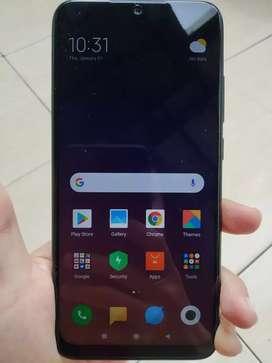 Xiaomi Redmi Note 7 Black 4GB/128GB Lkp Garansi Resmi TAM Mulus Banget
