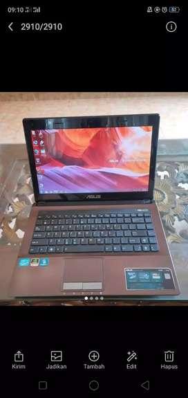 Laptop asus k43s i7 bisa kredit