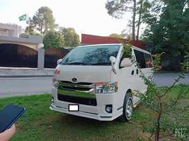 Toyota Hiace 2019. In good condition.