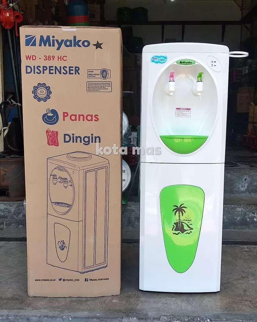Dispenser Air Panas Dingin Hot Cool Miyako WD389HC Murah Baru Bagus 0