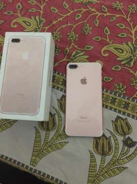 I phone 7 plus box charger batery helth 82 128 gb