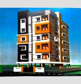 3bhk flat for sale Railway new colony@95Lk