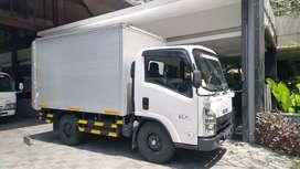 Jasa kirim barang Sewa Mobil truk engkel box, dan rental pickup