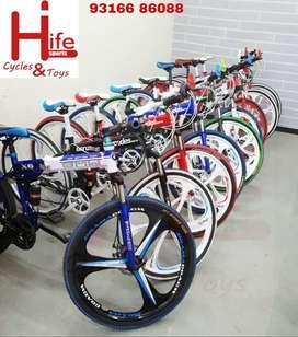 BMW X6 Folding Cycle 21 Shimano Gears. Free Bottle Holder & Fenders