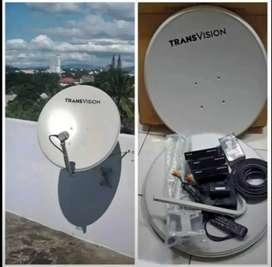 Parabola TRANSVISION HD resmi KotaPekanbaru free instalasi