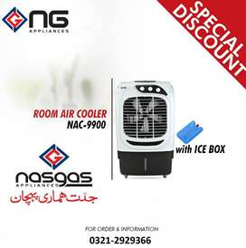 Nasgas Model NAC-9900 Room Air Cooler Unique & Stylish Design Imported