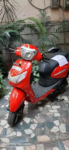 Prize winning Scooty only 11 km Ex showroom  @46300/,pay 42000/ only /