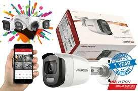 4 CCTV HIKVISION SECURITY CAMERA WITH FREE INSTALLATION