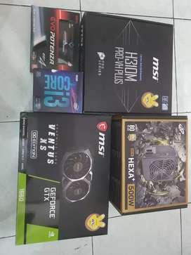PC Rakitan Gaming High NEW i3 9100F Feat GTX 1660 6GB Garansi Resmi