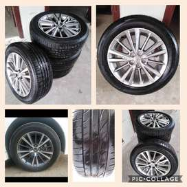 Toyota Corolla 1.8 Altis Grande Alloy rims for sale