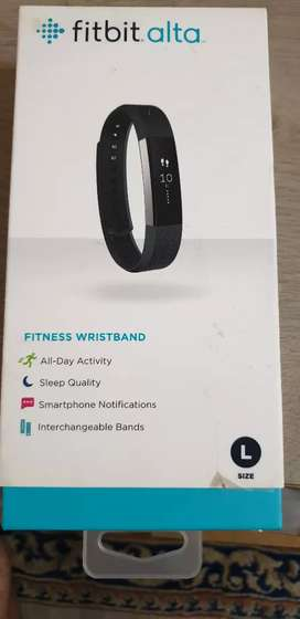 Fitbit Alta fitness tracker (Black) with original packing