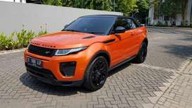 Range rover evoqe cabrio 2.0 orange 2017 black series