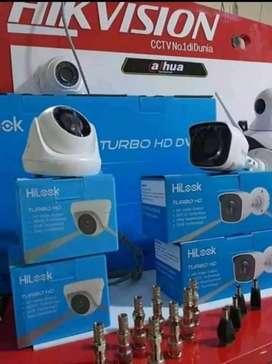 (PROMO) PAKET CCTV HILOOK 4 KAMERA HARGA SUDAH BERIKUT PEMASANGAN