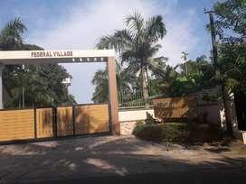 River front villa