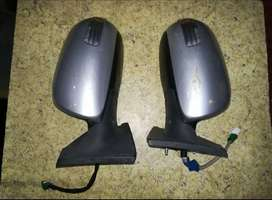 Toyota Vitz 2005-2010 Side Mirror with Indicator - SHAH NAFEES TRADERS