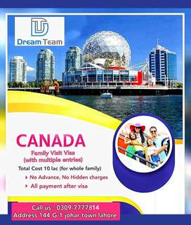 Canada Multiple visit Visa for Families