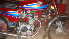 CG 125 2009 model red color a one condition 65000